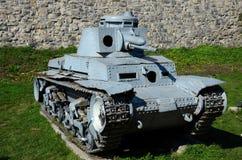 Musée militaire Serbie de Belgrade de réservoir léger de la deuxième guerre mondiale de Panzer II d'Allemand image libre de droits