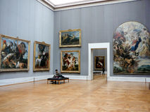 Musée Munich d'Alte Pinakothek image libre de droits