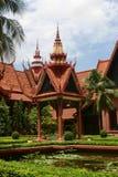 Musée National à Phnom Penh Images libres de droits