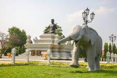 Musée National dans la pagoda d'argent de Royal Palace de Jour de la Déclaration d'Indépendance du Cambodge Photos stock