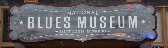 Musée national de bleus Images libres de droits