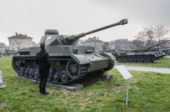 Musée National de l'histoire militaire Sofia, Bulgarie Images libres de droits