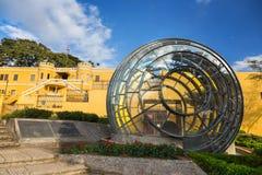 Musée National de vue de Costa Rica Building Modern Architecture Front près de San Jose City Center photo stock