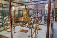 Musée national Expans du Caire consacré en Egypte antique, pharaons, mamans et pyramides égyptiennes photographie stock