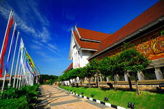 Musée National, Kuala Lumpur, Malaisie. Image stock