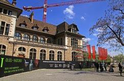 Musée National suisse à Zurich, Suisse Image libre de droits