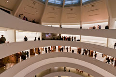 Musée New York City de Solomon Guggenheim Photo stock