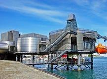 Musée norvégien de pétrole à Stavanger Photo stock