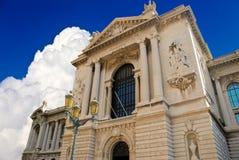 Musée océanographique à Monte Carlo, Monaco Images libres de droits