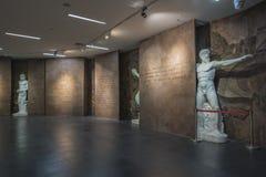 Musée olympique de la jeunesse de Nanjing photographie stock libre de droits