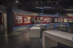 Musée olympique de la jeunesse de Nanjing photo libre de droits