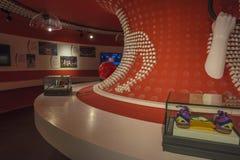 Musée olympique de la jeunesse de Nanjing image stock
