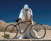 Musée ouvert de Goldwell : au milieu du désert du Nevada, photographie stock libre de droits