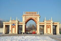 Musée-Patrimoine Tsartsyno à Moscou Photographie stock libre de droits