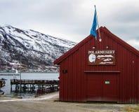 Musée polaire dans Tromso Images stock