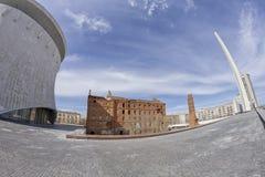 Musée-réservation historique et commémorative Images stock