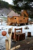 Musée rural 'moulin à eau' de la vie Image libre de droits