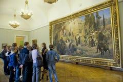Musée russe à St Petersburg Images libres de droits