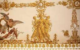 Musée russe de vues à St Petersburg Illustration de Vecteur