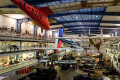 Musée technique national à Prague photographie stock libre de droits