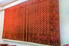 Musée turkmène 03 de tapis d'Achgabat images stock