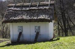 Musée ukrainien de maison en plein air l'Ukraine occidentale Images libres de droits