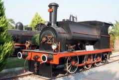 Musée : vieille locomotive à vapeur photo stock