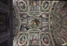 Musées de Vatican - couloirs photo libre de droits