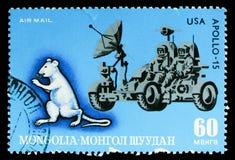 """Mus Apollo†""""15, zodiakbilder av den Lunisolar kalendern Royaltyfria Bilder"""