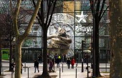 The Musée du quai Branly in Paris Stock Image