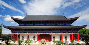 Mus Residence, Lijiang old town, Yunnan, China Stock Photos