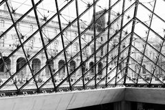 MusA©ee du Louvre, 免版税库存照片