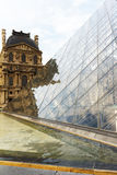 MusA©ee du Louvre, 免版税库存图片
