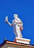 Musa en la azotea Fotos de archivo libres de regalías