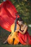 Musa para los músicos Fotografía de archivo libre de regalías