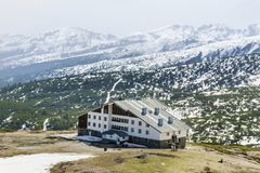 Free Musala Hut In Rila Mountain,Bulgaria In The Winter Royalty Free Stock Image - 103201406