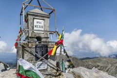Musala peak  in Rila mountain,Bulgaria Stock Photography