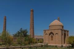 Musalla minarethjärta - Afghanistan Arkivbild