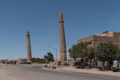 Musalla Minarets Herat - Afghanistan royalty free stock photos