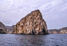 Musandam-Halbinsel in Oman Stockfotografie