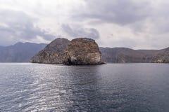 Musandam-Halbinsel in Oman Lizenzfreies Stockbild