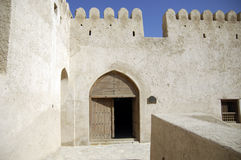 Musandam Oman khasab Fort Stockfoto