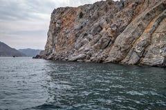 Musandam Peninsula in Oman Stock Image