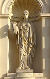 musaskulptur warsaw Royaltyfria Foton