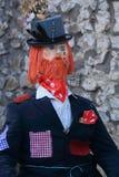 Musbury strach na wróble festiwal Fotografia Royalty Free