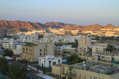 Muscat royaltyfri bild