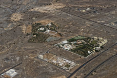 Muscat arabic town aerial view landcape Stock Photos
