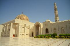 The Muscat mosk. A view of the Muscat mosk : Oman Stock Photo