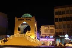 Muscat nachts Stockfotografie