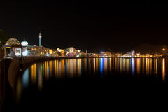 Muscat by night Royalty Free Stock Image